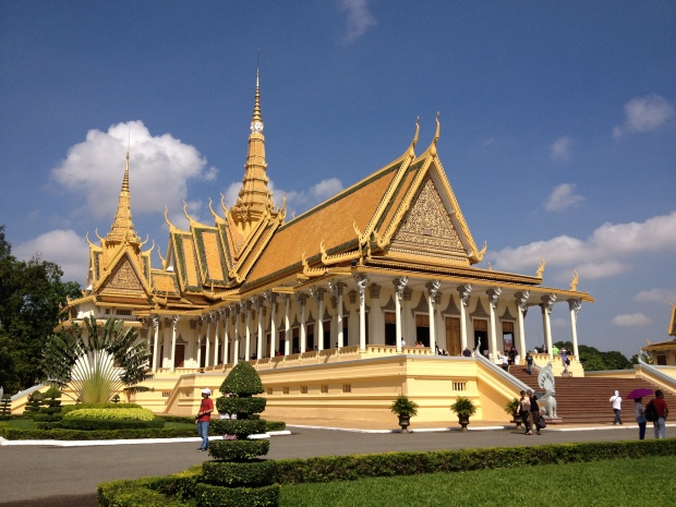 Throne Hall at Royal Palace, Phnom Penh