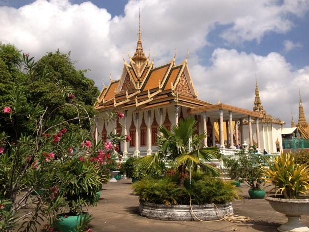 The Silver Pagoda at the Royal Palace, Phnom Penh