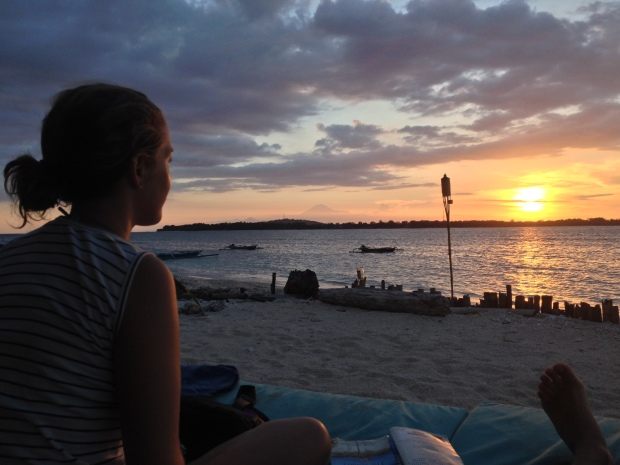 Sunset at Gili Air