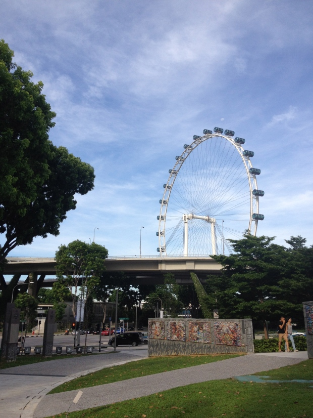 Singapore's answer to the London Eye!