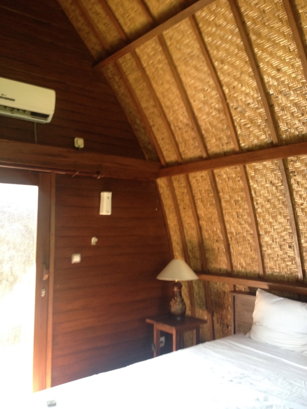 Inside the bungalow!