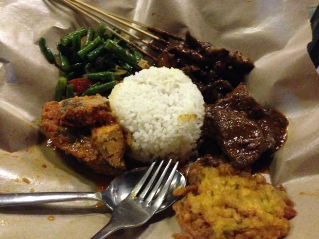 My meal at Warung Makun!