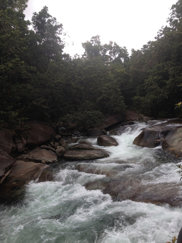 Waterfall at Babinda's Boulders