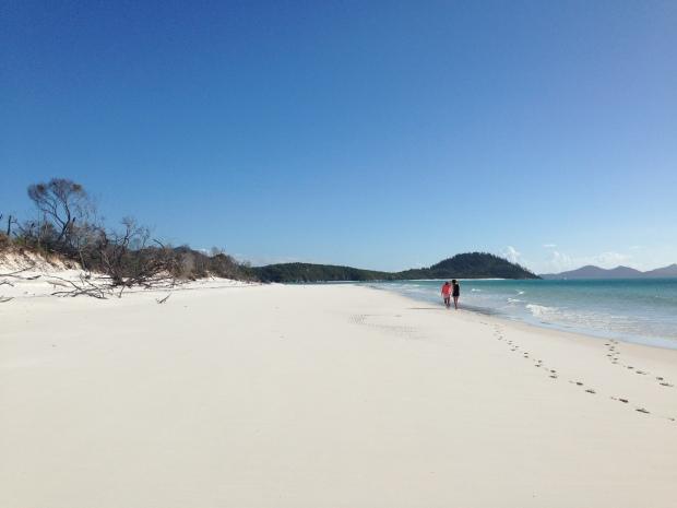 Untouched sand!